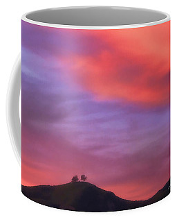 Ventura Ca Two Trees At Sunset Coffee Mug