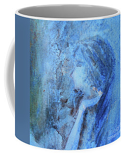 Coffee Mug featuring the painting Venus by Jane See