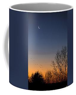 Venus, Mercury And The Moon Coffee Mug