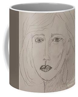 Vera In Pencil Coffee Mug
