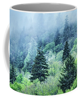 Verdant Forest In The Great Smoky Mountains Coffee Mug