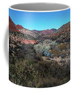 Verde Canyon Oasis Coffee Mug