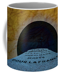 Coffee Mug featuring the photograph Verdun, France - Muslim Memorial Marker by Mark Forte