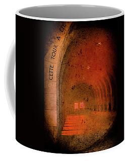 Coffee Mug featuring the photograph Verdun, France - Ossuary Hall by Mark Forte