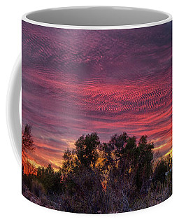 Verigated Sky Coffee Mug