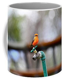 Vermilion Flycatcher Two Coffee Mug