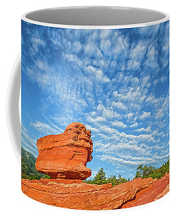 Vermillion Is The Color Of The Rock.  Coffee Mug