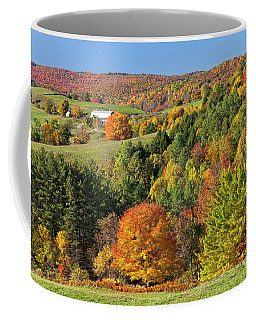 Vermont Autumn Landscape Coffee Mug