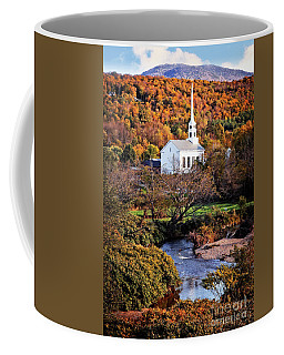 Coffee Mug featuring the photograph Vermont Autumn by Scott Kemper