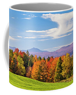 Vermont Autumn View Coffee Mug