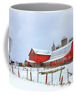 Vermont Barn Coffee Mug by Sharon Batdorf