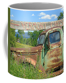 Vermont Cheese Coffee Mug by Susan Lafleur