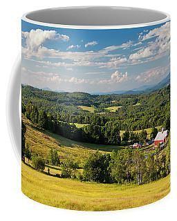 Coffee Mug featuring the photograph Vermont Summer Vista by Alan L Graham