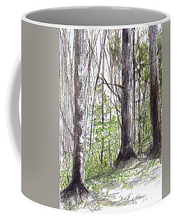 Vermont Woods Coffee Mug by Laurie Rohner
