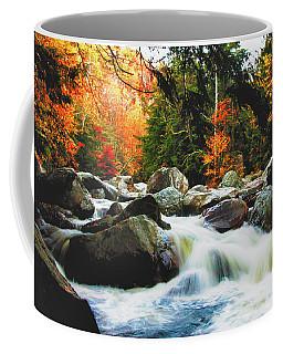 Vermonts Fall Color Rapids Coffee Mug