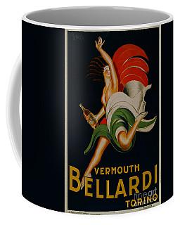 Vermouth Bellardi Torino Vintage Poster Coffee Mug