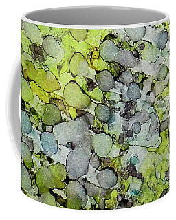 Coffee Mug featuring the painting Vernal Showers Ink #12 by Sarajane Helm