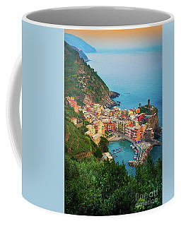 Vernazza From Above Coffee Mug