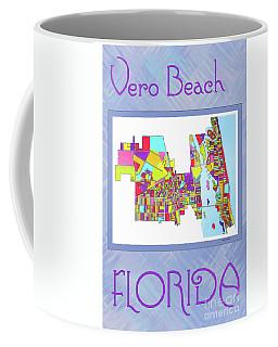 Vero Beach Map1 Coffee Mug