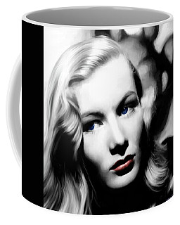 Veronica Lake Portrait #1 Coffee Mug