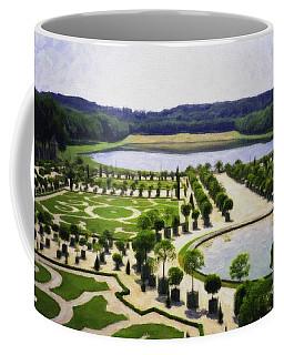 Versailles Digital Paint Coffee Mug