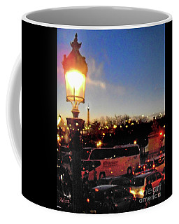 Vertical Book Cover Ideas - Champs Elysees Bus Tour Coffee Mug