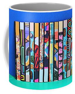 Vertical Colrs Coffee Mug