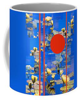 Coffee Mug featuring the photograph Vertical Horizon by Steve Karol