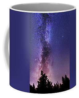 Vertical Milky Way Coffee Mug
