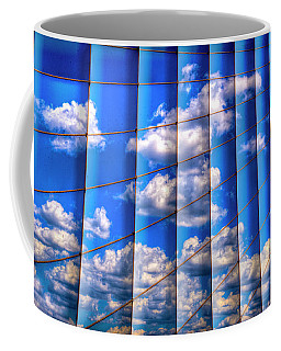 Coffee Mug featuring the photograph Vertical Sky by Paul Wear