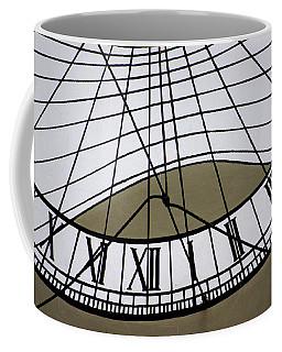 Vertical Sundial - Vertikale Sonnenuhr Coffee Mug