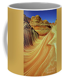 Vertical Wave Coffee Mug