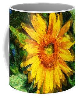 Very Wild Sunflower Coffee Mug