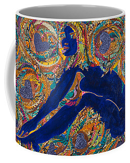 Vesica  Pisces Coffee Mug by Apanaki Temitayo M