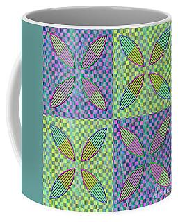 Vesica Piscis And Checkers No. 5 Coffee Mug