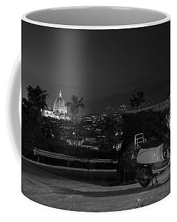 Vespa In Florence Italy  Coffee Mug