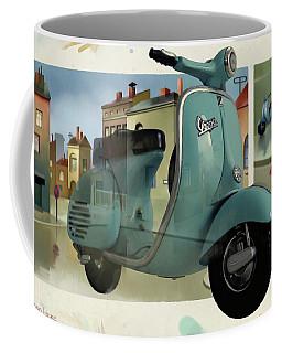 Vespa Memories Coffee Mug