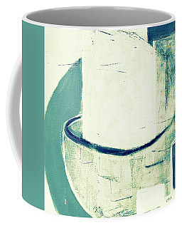 Coffee Mug featuring the painting Vessels 6  by VIVA Anderson