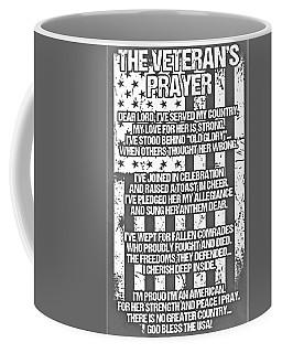 Coffee Mug featuring the photograph Veteran's Prayer by Rob Hans