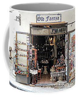 Via Pietro Capuano Shopping - Amalfi, Italy Coffee Mug