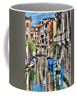 Viale Di Venezia Coffee Mug by Tom Cameron