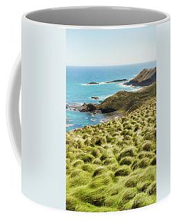 Vibrant Cape Seascape Coffee Mug