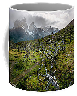 Vibrant Desolation Coffee Mug by Andrew Matwijec