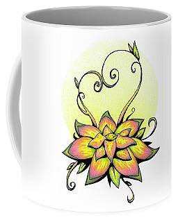 Vibrant Flower 8 Coffee Mug