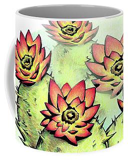 Vibrant Flower 6 Cactus Coffee Mug