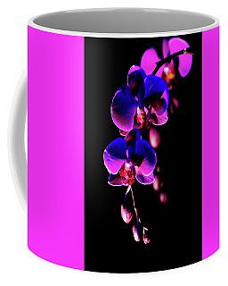 Vibrant Orchids Coffee Mug by Ann Bridges