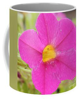 Vibrant Pink Flower Coffee Mug