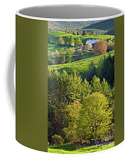 Coffee Mug featuring the photograph Vibrant Spring by Alan L Graham