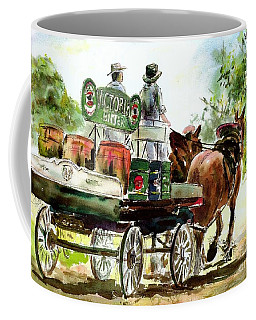 Victoria Bitter, Working Clydesdales. Coffee Mug