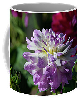 Victoria Ann Dahlia Coffee Mug by Glenn Franco Simmons